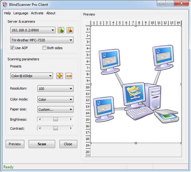 Click to view BlindScanner Pro 3.14 screenshot